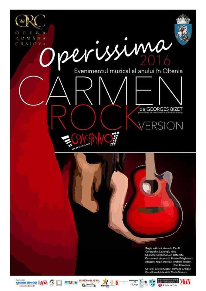 Operissima 2016 – Carmen Rock Version