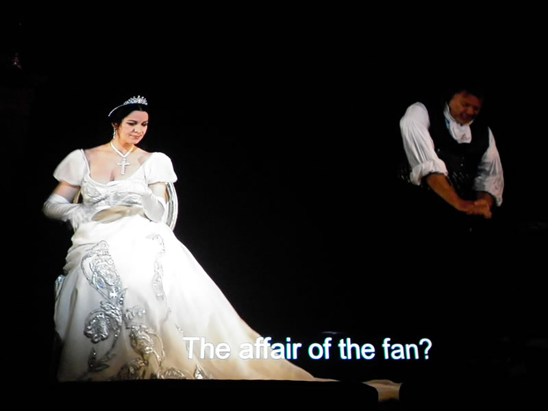 """Tosca"", London Covent Garden Royal Opera House, 2011"