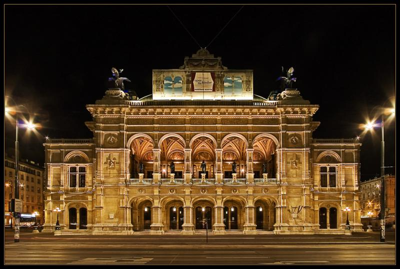 Vienna Opera House scheule for 27-30th of April